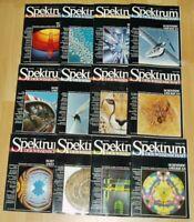 Spektrum der Wissenschaft 1986 komplett Jahrgang Sammlung Zeitschrift Science