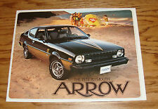 Original 1978 Plymouth Arrow Sales Brochure 78