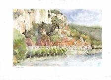 Patrick Mignard La Roque Gageac Postcard used VGC