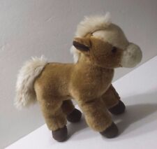 Toys R Us Brown Horse Stuffed Animal 2011 Standing Pony Child Toy Farm Animal