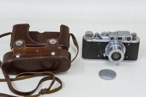 FED Type 1e Berdsk Rangefinder Camera 3.5/50 M39 Leica Mount USSR