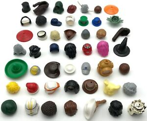 Lego New Minifigure Hats Hair Wigs Headgear Boy Girl Town City Star Wars More