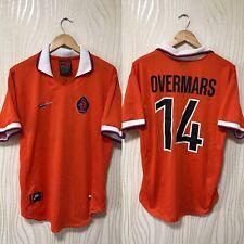 NETHERLANDS 1997 1998 HOME FOOTBALL SHIRT SOCCER JERSEY # 14 OVERMARS HOLLAND