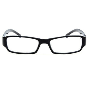 Near / Short Sighted Glasses Black Plastic Frame -1.00 -1.50 -2.00 to -6.00