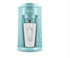 Bella Dual Brew Single-Serve Coffee Maker   K-Cup Compatible 2.0   Aqua Color