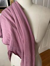 Pink Mauve Rayon Spandex Knit Viscose Fabric sewing quilting clothing 3 Yard
