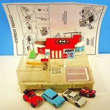 """EXPRESS FREIGHT"" TRAVEL CITY PLAYSET + 4 ACC 1989 GALOOB MICRO MACHINES LOT"