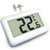 Digital LCD Thermometer Temperature & Alarm Meter for Fridge Refrigerator Freeze