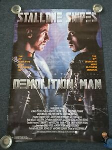 Original Demolition Man One-sheet
