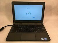 "Dell Chromebook 11 3120 11.6"" Laptop Intel Celeron N2840 2.16GHz 4GB 16GB SSD"