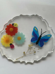 Flower Resin Coaster