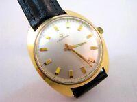 Vintage Certina Armbanduhr Edelstahl Vergoldet Handaufzug Kaliber 25-66 um 1965
