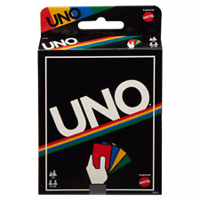 - Mattel UNO Retro Edition Card Game