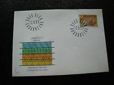 SUISSE - enveloppe 1er jour 12/9/1968 timbre yt n° 813 (cy35) switzerland