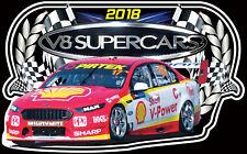 Scott McLaughlin 2018 V8 Supercars Sticker Future Champion Bathurst Ford Falcon