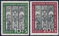 BUND 1951, MiNr. 139-140, 139-40, tadellos postfrisch, gepr. Schlegel, Mi. 220,-