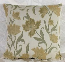 """⭐️John Lewis Colette Fabric Cushion Cover 18""""x18"""" Yellow Floral Was £8.99"""