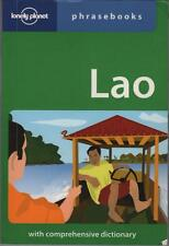 LAO PHRASEBOOK WITH COMPREHENSIVE DICTIONARY LONELY PLANET TRAVEL GUIDE SC