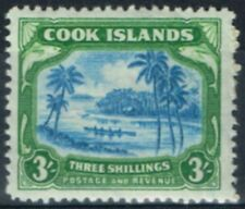 George VI (1936-1952) Single Cook Islander Stamps (Pre-1965)