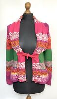 SALE Women's ODD MOLLY #654 Cardigan Knitted Multi-Color Size 1 Long Sleeve Top