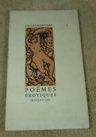 PAUL LE SILENTIAIRE - POEMES EROTIQUES - JACQUES HAUMONT 1953 EX N° 306 sur 325