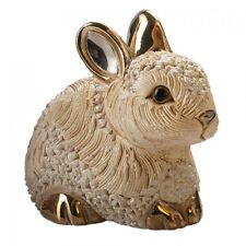 De Rosa Baby Bunny Resting Figurine F410B in Branded Gift Box