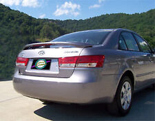 PAINTED TO MATCH SPOILER FOR A HYUNDAI SONATA FITS 2006-2010