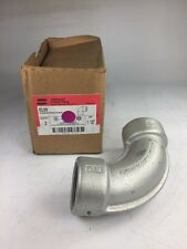 """Crouse-Hinds El59, 90 Degree Female Elbow Size 1 1/2"""" (Qty 1) New"""