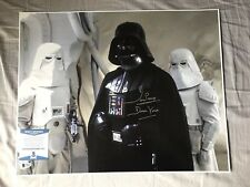 Dave Prowse Signed Autographed Darth Vader 16x20 Photograph StarWars Beckett COA