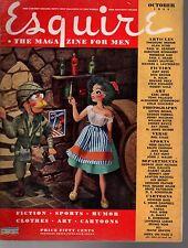 1944 Esquire October-Hitler's strangest division; Notre Dame Football; Wisconsin