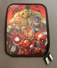 """Marvel AVENGERS Comics iPad Mini 8"""" Tablet 3D Case Cover HULK THOR IRON MAN"""