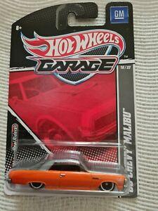 Hot Wheels Garage 65 Chevy Malibu NEW