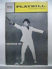 GEORGE M Playbill DARRYL HICKMAN / LINDA LARSON / TED PRITCHARD Tour BOSTON 1969