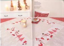 Rico Design Mitteldecke -Weihnachten - NEU aus Buch 135 Saison Rarität
