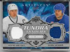Wayne Gretzky & Mark Messier 2008-09 Artifacts UD Tundra Tandems Patch 23/50