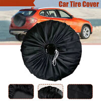 Spare Tyre Cover Wheel Cover Tyre Bag Space Saver For Car Motorhome Van Truck