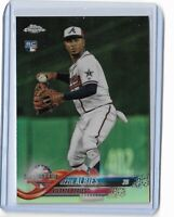 2018 Topps Update chrome refractor rookie Ozzie Albies HMT76 239/250