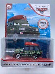 "Disney Pixar Cars Diecast Corporal Josh Coolant Deluxe ""Packaging Damaged"""