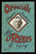 "1919 Cincinnati Reds Players Souvenir yearbook - Rare ""Pennant Winners"" edition"