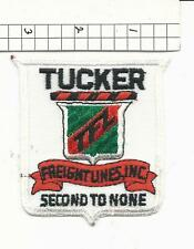 Tucker Freightlines replica truck driver patch (C2)