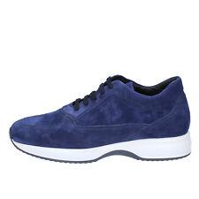 scarpe uomo TRIVER FLIGHT 43 EU sneakers blu camoscio AB636