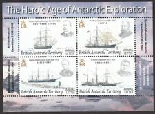 British Antarctic Territory 2008 Explorers and Ships Min Sheet Mint SG MS473