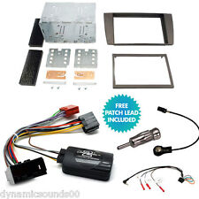Double Din Car Stereo Fitting Kit Fascia Stalk Adaptor For Jaguar X-Type S-Type