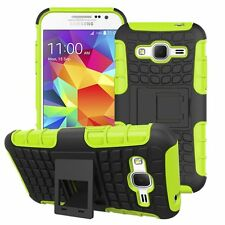 Proof Hard Case Heavy Duty Survivor Tough Shock Cover for Mobile PHONES Tablets Samsung Galaxy J3 (2016) Lime