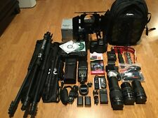 NEW Canon EOS 5D Mark IV 30.4 MP Digital SLR Camera W/3Lens MATTBOX,FollowFocus