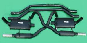 "Ford Capri CLUB PERFORMANCE EXHAUST SYSTEM 2"" SS EXIT: 2.8 X032"