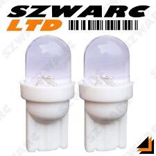 2x 501 T10 W5W 194 CAR LED PURE SUPER WHITE XENON WEDGE SIDE LIGHT BULBS 12v UK