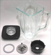 Oster blender 6 piece Complete Glass Jar Replacement Set 5 cup NEW