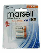 2 pcs CR2 CR17355 CR15270 CR-2 Card 3V Lithium Battery