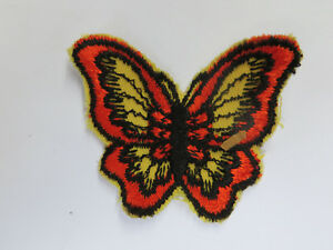 Vintage 60's / 70's Butterfly Patch! Jacket / Vest / Crafts / Mint!! / NOS!